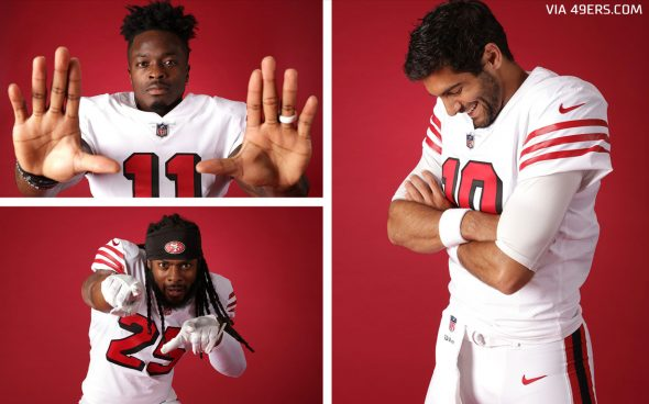 49ers Throw It Back To The 94ers Unveil Alternate Uniform