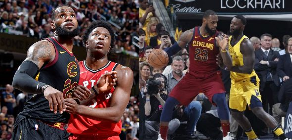 The Cavs have worn black at home and wine on the road for every 2018 Playoff game