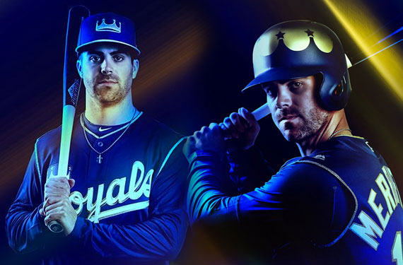 KC Royals Show Off 2018 Turn Ahead the Clock Uniforms