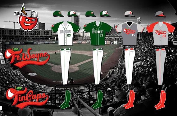 Fort Wayne TinCaps complete uniform unveil