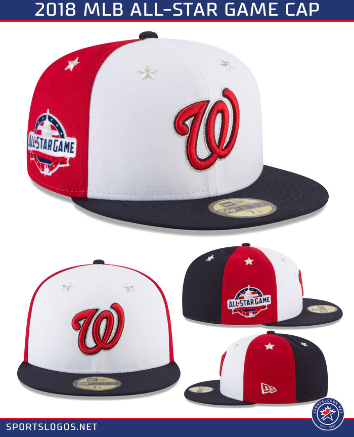 2018 MLB All Star Game Cap Detail Washington Nationals  170119a3623