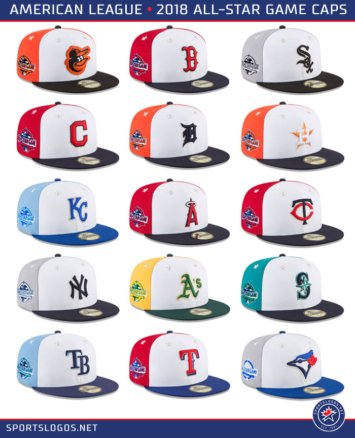 2018 MLB All Star Game Caps – American League  123de951bdb