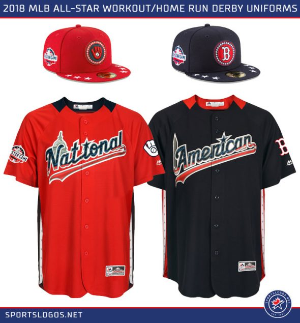 daaa2b1a390 Those same socks shown earlier in this post will be worn with these uniforms.  The 89th Major League Baseball All-Star ...