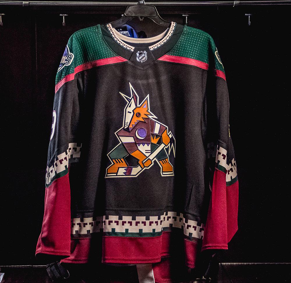 Coyotes Bring Back the Kachina as New Third Uniform