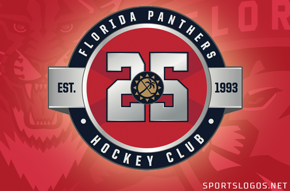separation shoes 7e637 d2571 Florida Panthers to Celebrate 25 Years in 2018-19 | Chris ...