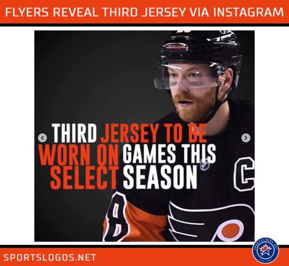 premium selection cd10c 5a14c Philadelphia Flyers Quietly Unveil Third Jersey   Chris ...
