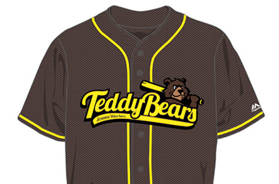 SWB RailRiders to change name to Teddy Bears for one night  999b3e788d4