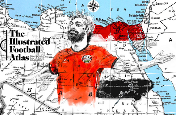 World Cup 2018: The Illustrated Football Atlas by Michael Raisch