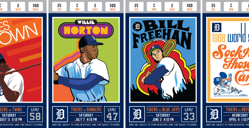 Studio Stories: Detroit Tigers 2018 Season Tickets