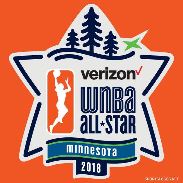 2018 WNBA All-Star Game Logo