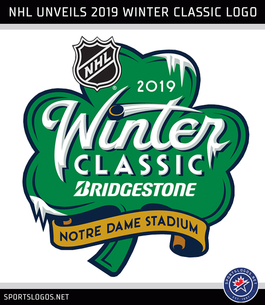 2019 NHL Winter Classic Logo Notre Dame Unveiled. Written By  Chris Creamer  ... a3b9ff133