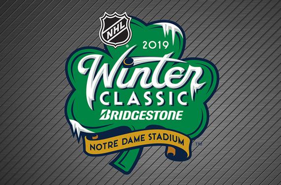 Icy Irish  NHL Unveils Logo for 2019 Winter Classic. Written By  Chris  Creamer ... e84fea8db