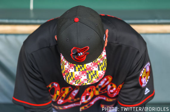 Orioles Salute Maryland With Special Uniforms