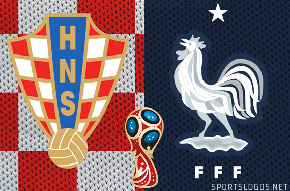 2018 World Cup Final Kits Set: Checkerboard vs Navy Blue
