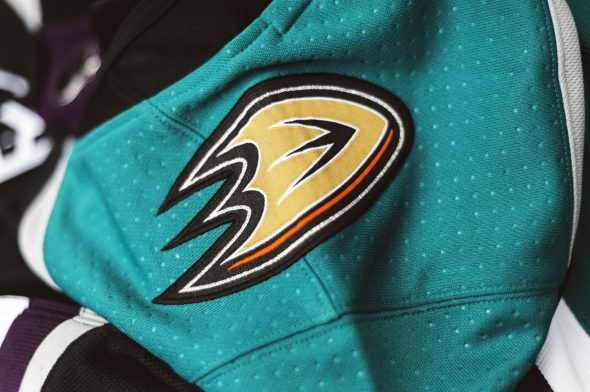 quality design ab5a8 04640 Ducks Go Mighty Retro for New Third Jersey | Chris Creamer's ...
