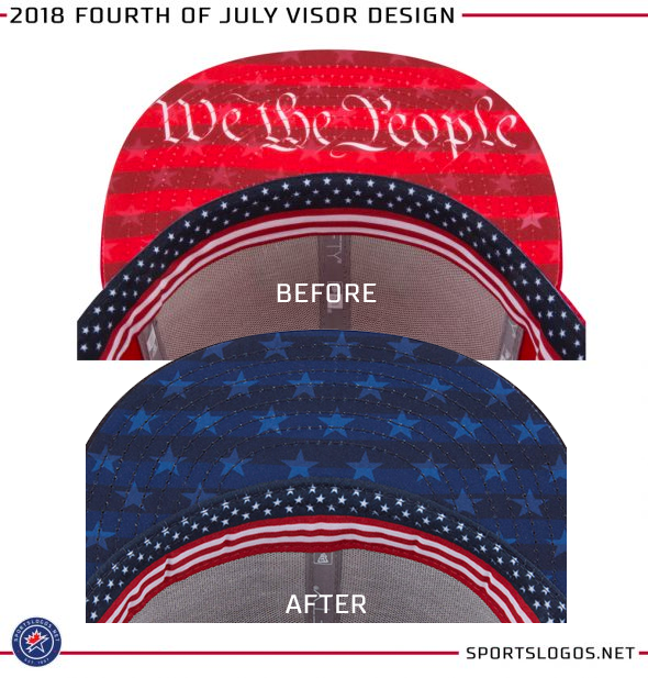 "e6133c517db Upon its initial release in March we originally saw a ""We the People"" design  and a flag pattern underneath the visor"