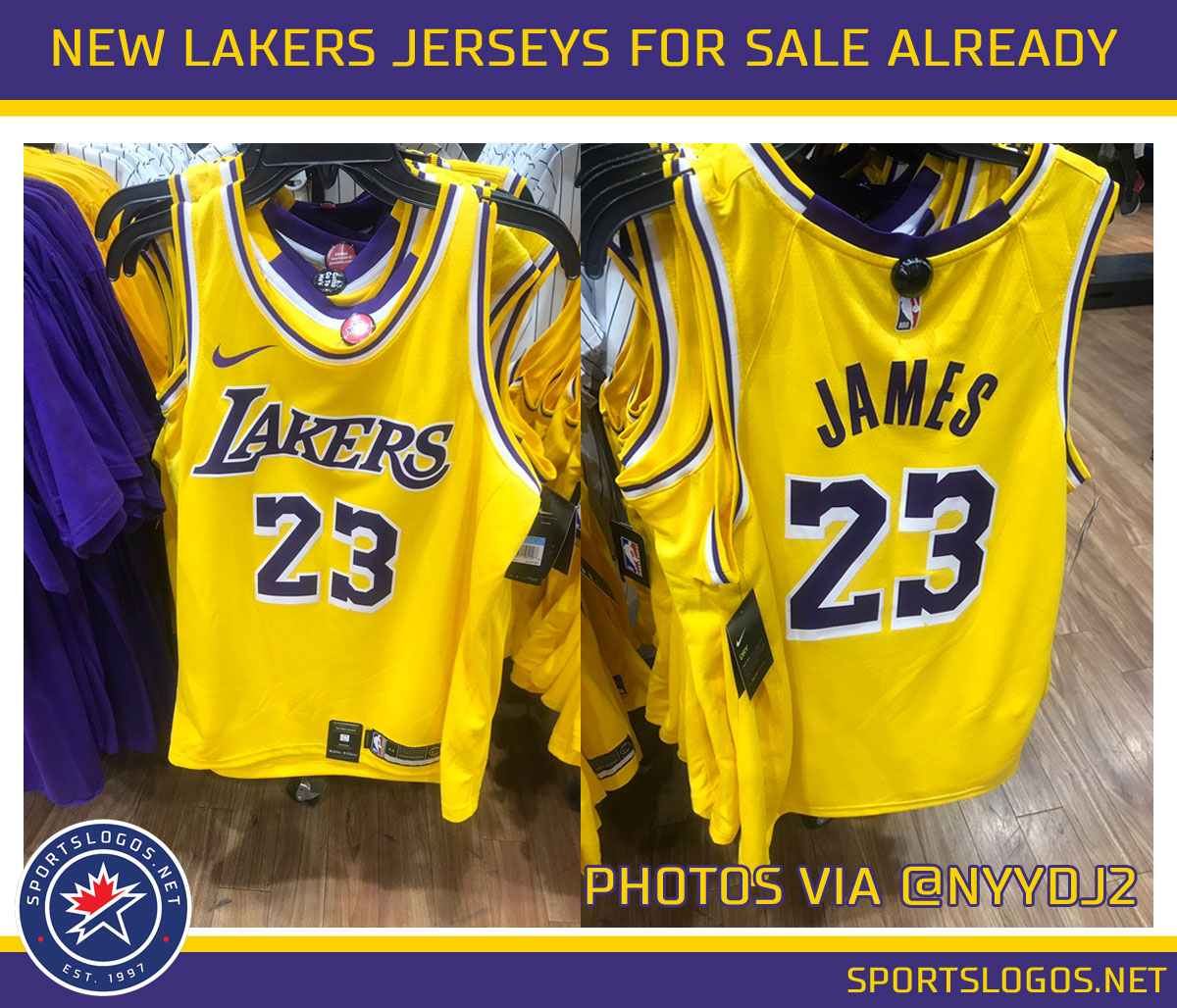 869bdf383 ... where to buy content.sportslogos news 2018 07 la lakers jersey leaked  modells 0cc59 9cf96