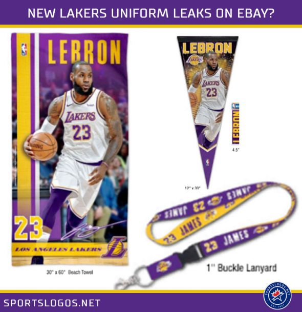 sale retailer 62917 a8334 Lakers Announce New Unis Coming Soon; Immediately Leaked ...