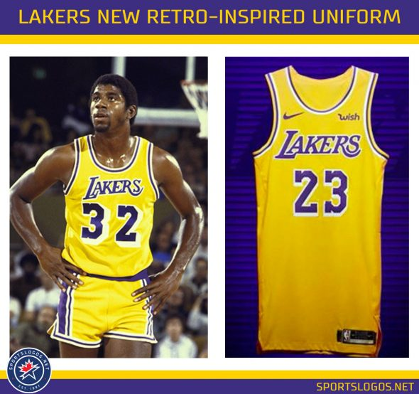 new product 22259 24bb7 Lakers Officially Unveil New Uniforms for 2018-19 | Chris ...