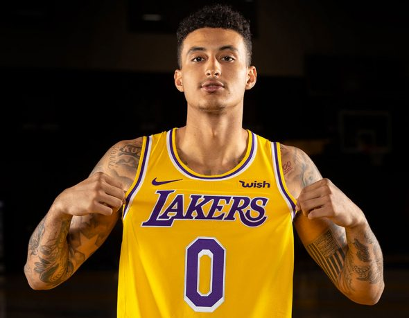 Lakers Officially Unveil New Uniforms For 2018-19