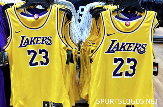 get cheap 3a07f f3542 Pics: New LA Lakers Jersey Leaks Again! | Chris Creamer's ...