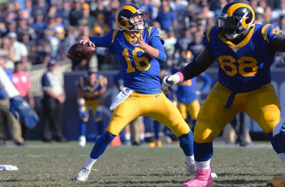 Rams Ditch the Navy, Embrace Throwbacks in 2018