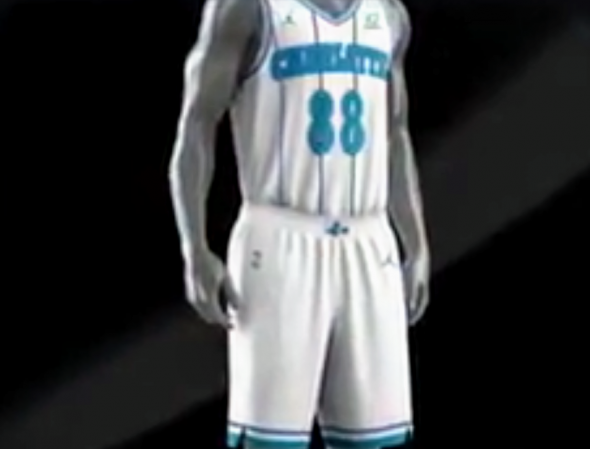 quality design b07f5 a4ded Charlotte Hornets Unveil New Retro Uniform | Chris Creamer's ...