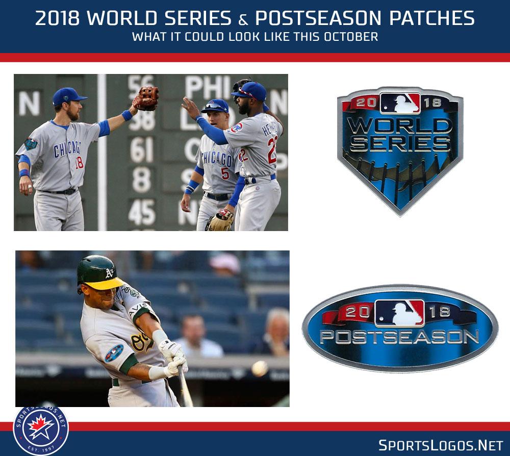 2018 world series postseason patches on uniform jersey cap  0f5c1873ffb