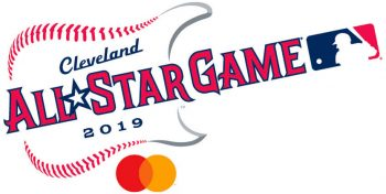 2019 MLB All-Star Game logo with sponsor