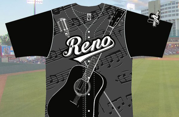 Reno Aces pay tribute to Johnny Cash with specialty jerseys