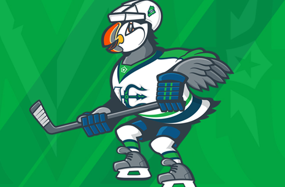 Beacon the Puffin Introduced as Maine Mariners Mascot
