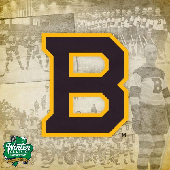 Boston Bruins 2019 Winter Classic Logo