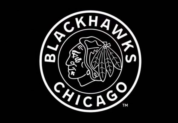 Chicago Blackhawks 2019 Winter Classic Logo