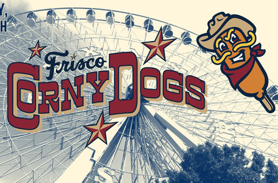 RoughRiders honor Texas State Fair as Frisco Corny Dogs