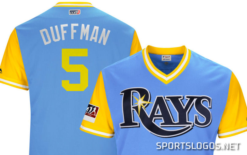 premium selection e992c 2a1d2 Duffman Tampa Bay Rays Players Weekend Jersey 2018 | Chris ...