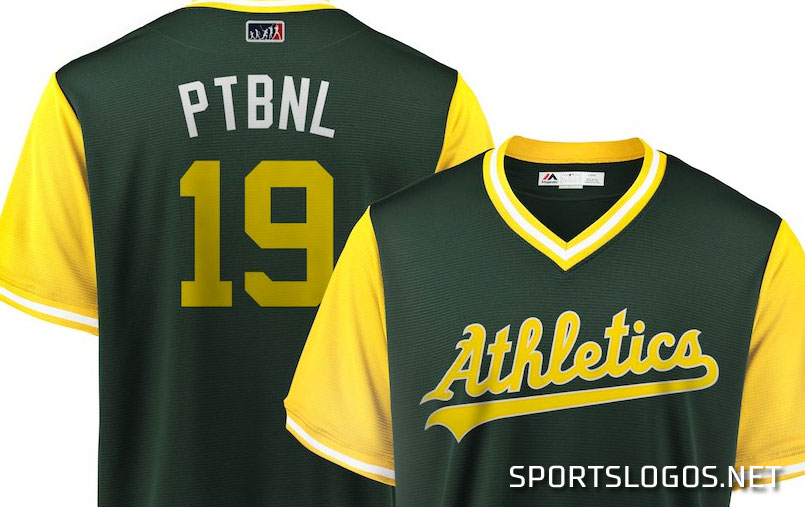 100% authentic 92fc1 29627 Player to be Named Later Oakland Athletics Players Weekend ...