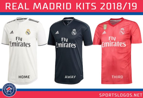 e5a69b02248f Real Madrid had already unveiled their home and away kits earlier this  year