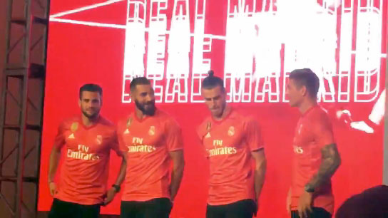 d1a95a7164d Real Madrid had already unveiled their home and away kits earlier this  year