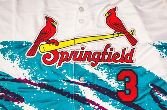 Springfield Cardinals have some amazing '90s uniforms