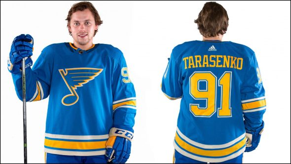 The St Louis Blues will be bringing back the uniform they wore for the Winter  Classic in 2017 fe3152434
