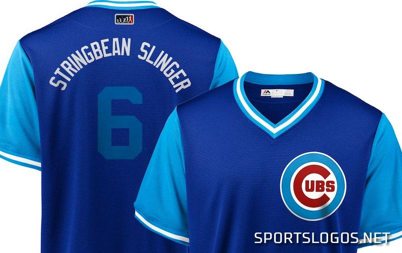 size 40 b018c 31bf1 Stringbean Slinger Carl Edwards Jr Chicago Cubs Players ...