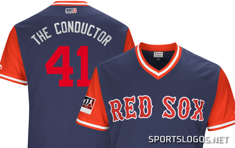 info for 9653f 4b076 The Conductor Chris Sale Players Weekend Bosotn Red Sox ...
