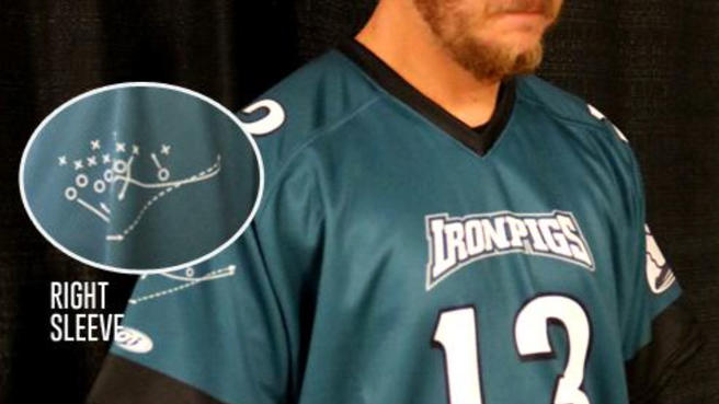 Lehigh Valley IronPigs honor NFL champs with special uniforms