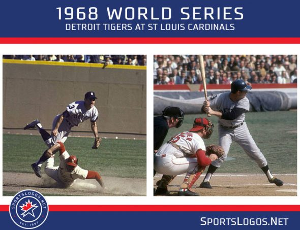 on sale 93803 dd14f Throwback Uniforms as Tigers, Cardinals Remember '68 Series ...