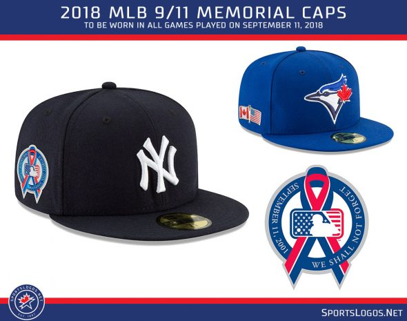 The league has worn a special cap on the anniversary each season since  2001 341136a3c