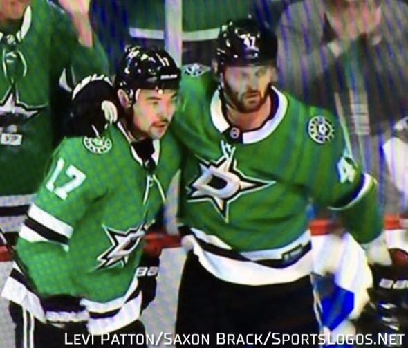 new styles 90cbc e7eac Dallas Stars Player Borrows Jersey from Fan, Wears In Game ...