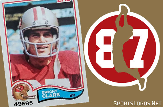 49ers Add Decal in Memory of Dwight Clark  e0d842442