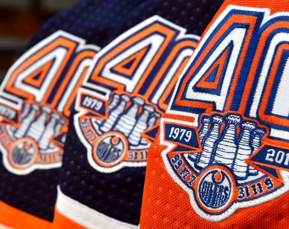 new style 556ae 5c009 Edmonton Oilers Show Off Retro Uniform, 40th Anniversary ...