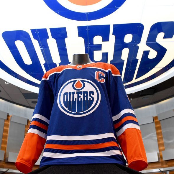 Edmonton is bringing back the long-buried uniform for the 2018-19 season to  help celebrate the 40th anniversary of the team joining the NHL in 1979 280ddffe1