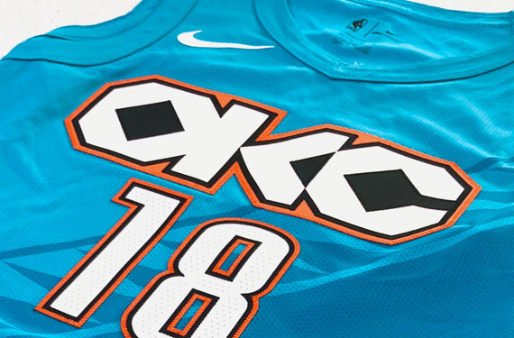 "New OKC Thunder ""City"" Uniform Posted A Little Too Early"